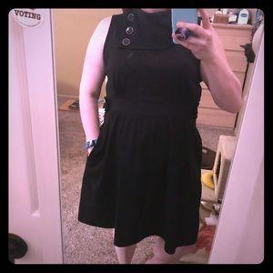 Dress black plus size ModCloth 1x